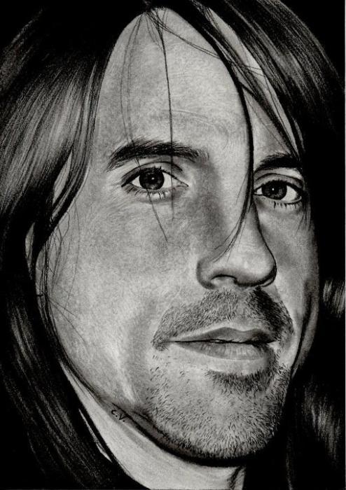 Anthony Kiedis par Sadness